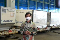 Fifth batch of Sinovac vaccine arrives in Indonesia