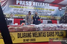 Police thwart international syndicate's attempt to traffic 310-kg meth